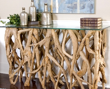 driftwood counter