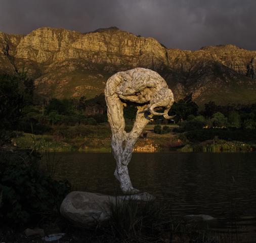 Shamanic figure, Dylan Lewis