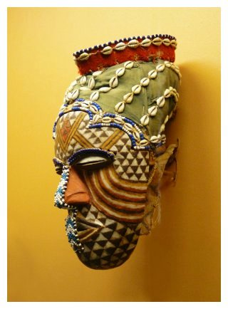 female kuba mask
