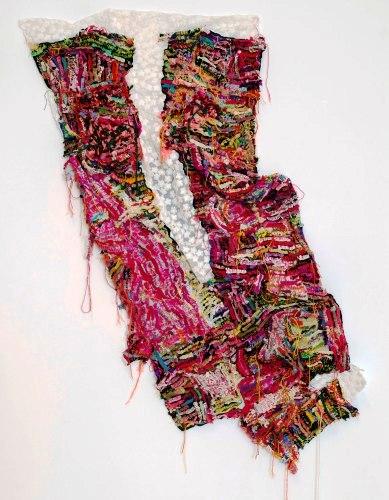 'Garden' 2017 mixed media textile