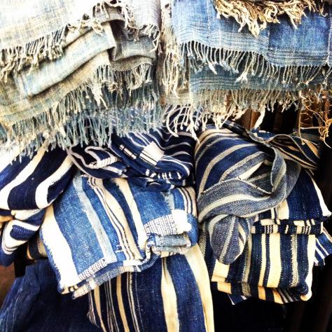 indigo cloths