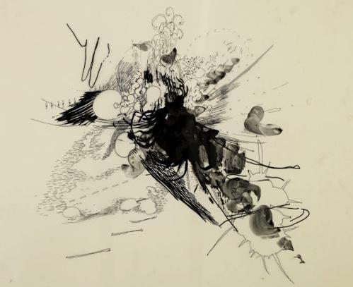 julie mehretu drawing