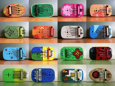 kalimba collage