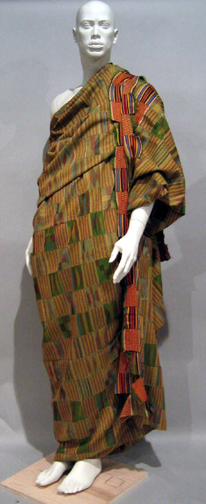 Kente cloth Met Mus NY