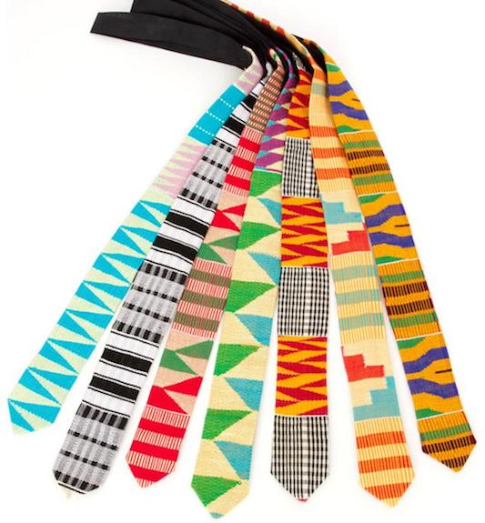 kente necktie swahili modern