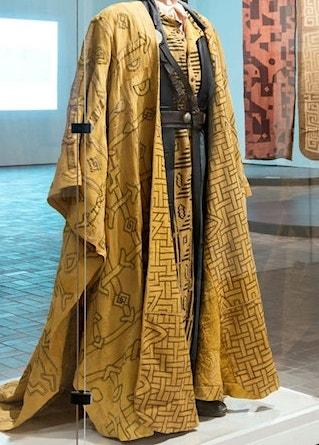 Kuba costume, 1999 production at the Metropolitan Opera