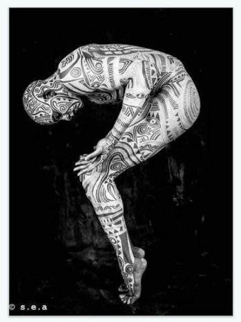 laolu senbanjo body-art