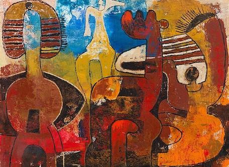 Lucky Sibaya, 'Four Figures'