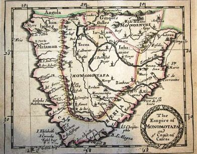 monomatapa kingdom, S Africa
