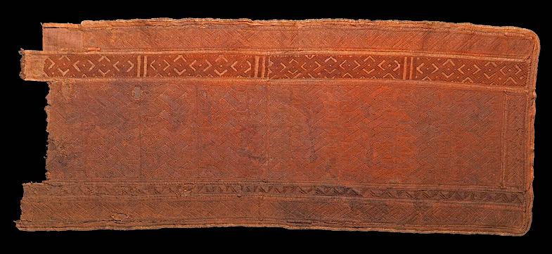 Remnant, Kuba cloth, 1736-1799, Baltimore Museum