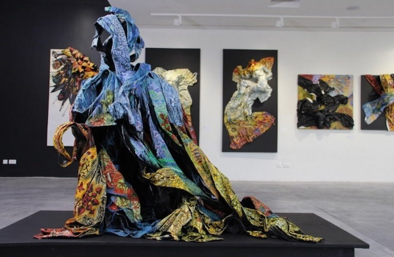 'Wrapture.. a story of cloth' - Peju Alatise