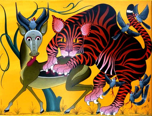 saidi omary aspects of a tiger