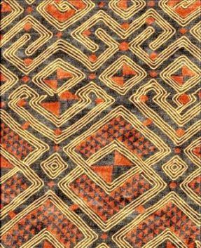 Kuba Shoowa cloth