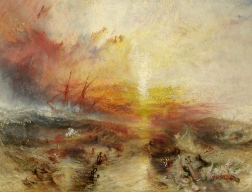 'Slave Ship' 1840, William Turner
