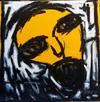 Yellow is the new black 100x100cm Acrylic on canvas