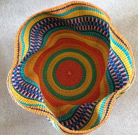 Bright Wave basket