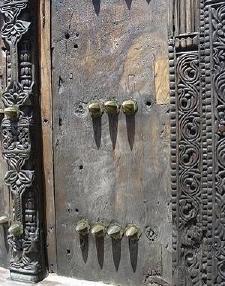 Fort Jesus door