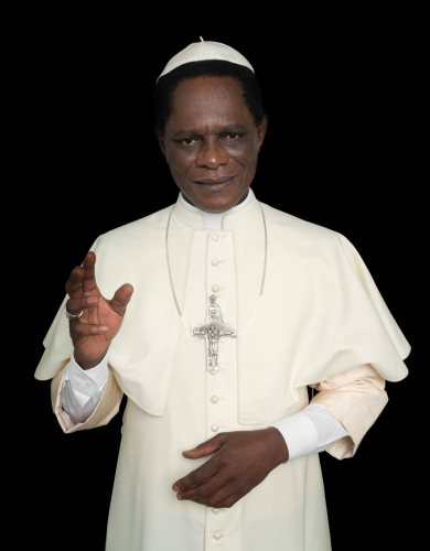 From the 'Black Pope' Series - Samuel Fosso