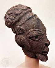 nok terracotta head, jos