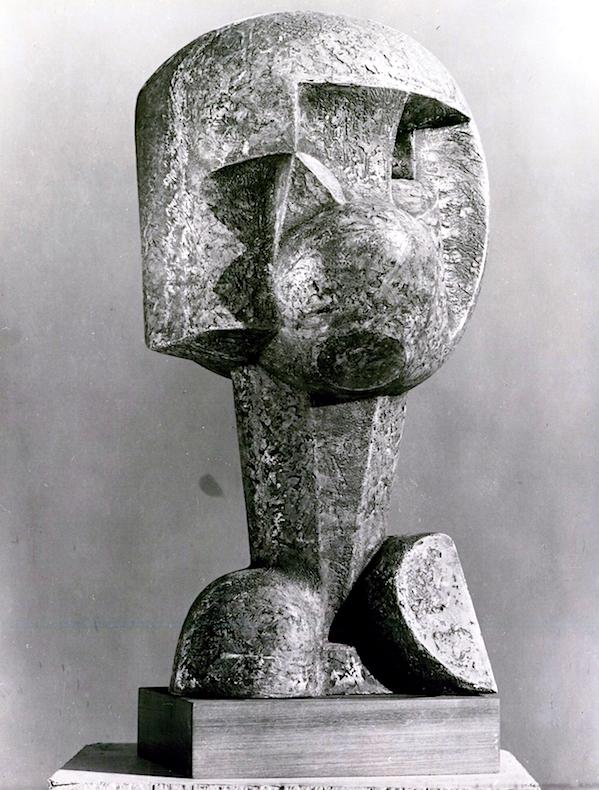 'African Mask', Edoardo Villa, 1965