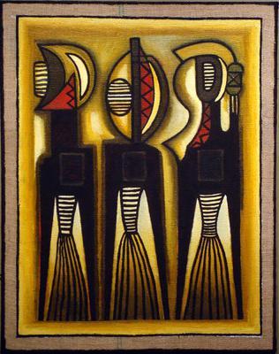 THREE INITIATES by Ephrem Kouakou
