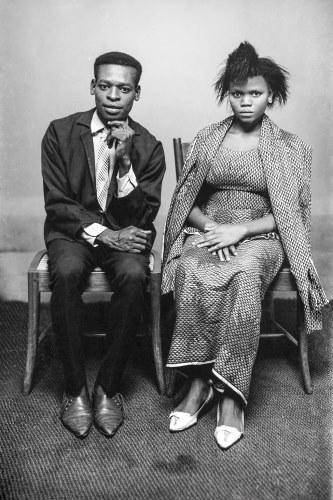 Man and Wife Seated, Alonge