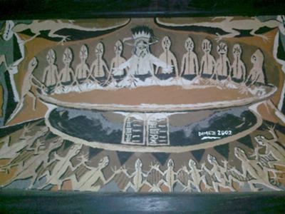 Last supper [night of betrayer]