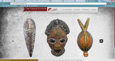 Visit NyamiAfricanMasks.com to buy