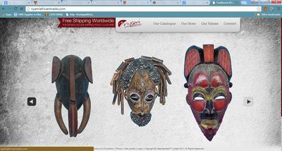 Buy African Masks at Nyami African Masks